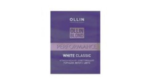 OLLIN BLOND Perfomance WHITE Classic 30