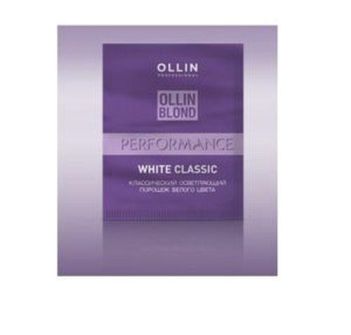OLLIN PERFORMANCE Осветляющий порошок белого цвета 30гр
